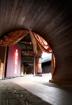 Brewery built a hundred years Hakata country registered tangible cultural property. 国登録有形文化財 博多百年蔵 酒蔵