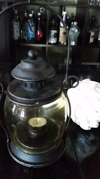 Smoked Glass Bronze Lanterns $150