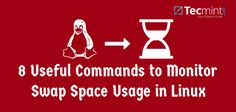 8 Useful Commands to Monitor Swap Space Usage in Linux