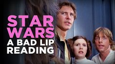 Bad Lip Reading has provided alternate dialogue for the original Star Wars trilogy with hilarious character voices by their guests Maya Rudolph, Bill Hader, and Jack Black. It's an out of thi… Maya Rudolph, Theme Star Wars, Original Trilogy, Star Wars Humor, Love Stars, Jack Black, Maryland, I Laughed, Laughter