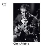 Chet Atkins. Unbelievable command of the instrument.