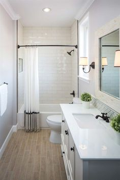 Small bathrooms may seem like a difficult design task to take on; however, these spaces may introduce a clever design challenge to add to your plate. Creating a functional and storage-friendly…MoreMore #RemodelingGuide
