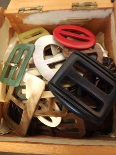 Vintage Jewelry Repurposed Ideas for re-purposing vintage belt buckles Leather Belt Buckle, Vintage Belt Buckles, Diy Belts, Button Crafts, Making Ideas, Jewelry Crafts, Vintage Jewelry, Jewelry Making, Hermes Scarves