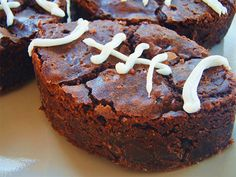 Football Brownies for sports party