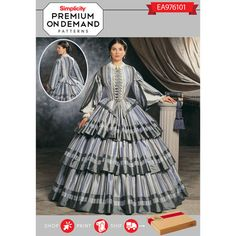 Simplicity Pattern EA976101 Premium Print On Demand Costume Pattern