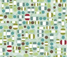 Mod Knitter fabric by cynthiafrenette on Spoonflower - custom fabric
