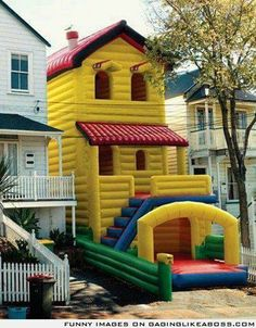 Check out all our Giant Blow Up House funny pictures here on our site. We update our Giant Blow Up House funny pictures daily!
