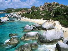 VIRGIN GORDA - CARIBBEAN