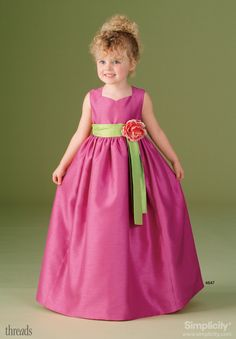 Very cute dress for a young girl