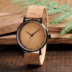 Cheap timepiece, Buy Quality timepiece men directly from China timepiece women Suppliers: BOBO BIRD Wooden Dial Watches Cork Strap Wood Watch Timepieces for Men and Women relogio feminino DROP SHIPPING Big Ben, Wood Gift Box, Wood Gifts, Watches Photography, Wooden Watch, Stainless Steel Watch, Cool, Lady, Vintage Designs