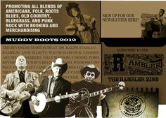 Muddy Roots Music Festival is THE BEST music festival anyone could ask for! Just look at this years line-up.