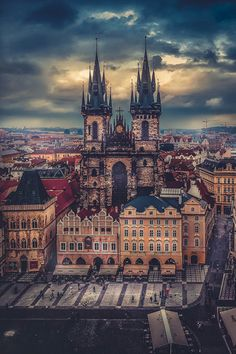 Eurphoria — silverliningthe: Above Prague by Kate L.A.
