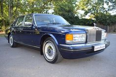1996 Model Rolls Royce Silver Spirit MK IV. Finished in Peacock Blue with Cotswold interior piped in French Navy, with French Navy carpets piped in Cotswold. Fitted with parking sensors. Only 78,000 miles with Full Service History. Totally immaculate condition throughout and must be viewed £25.950 Full Details: http://hanwells.net/rolls-royce-select/rolls-royce-silver-spirit/1996-model-rolls-royce-silver-spirit-mk-iv-in-peacock-blue-25-950