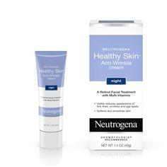 Neutrogena Healthy Skin Retinol Night Cream Vitamin E, Glycerin 1.4 oz