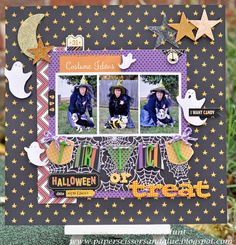 Trick or Treat-Basically Bare and Pebbles - Scrapbook.com