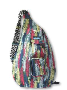Rope Bag-Fall Feathers