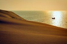Куршская коса. Утро в дюнах. Фото 17 июля 2010 года.