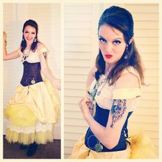 Pin for Later: Yes, You Can Be a Disney Princess —Here's How! Steampunk Belle