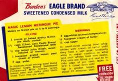 lemon icebox pie eagle brand - Bing Images
