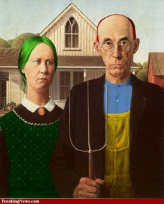 American Gothic 22✖️Fosterginger.Pinterest.Com✖️No Pin Limits✖️More Pins Like This One At FOSTERGINGER @ Pinterest