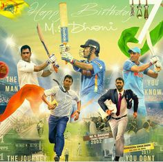 Happy birthday dhoni wish by suraj Happy Birthday Hd, Happy Birthday Wallpaper, Happy Birthday Pictures, History Of Cricket, World Cricket, Ms Doni, Birthday Scenario, Dhoni Quotes, Ms Dhoni Wallpapers