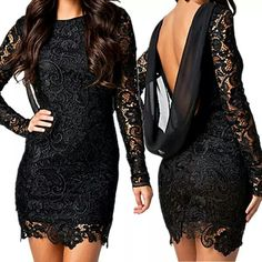 this is fab... classy yet sexy but not cheap n slutty... love the cowl back