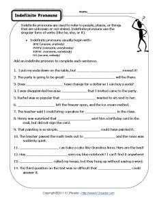 Indefinite Pronoun Worksheet involve some pictures that related one another. Find out the newest pictures of Indefinite Pronoun Worksheet here, and also you can receive the picture here simply. Pronoun Grammar, Pronoun Worksheets, Grammar Practice, 2nd Grade Worksheets, Printable Worksheets, Punctuation, Grammar Quiz, School Worksheets, Education