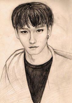 Art EXO Jongdae Chen #Chen #EXO