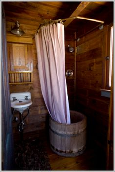 tiny house small bathroom with traditional design