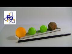 ¿Qué sucede si soplas entre dos pelotas? Principio de Bernouilli fq-experimentos
