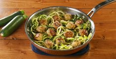 Garlic Butter Meatballs Recipe - How to Make Garlic Butter Meatballs Zoodle Recipes, Meat Recipes, Meatball Recipes, Pasta Recipes, Low Carb Recipes, Chicken Recipes, Cooking Recipes, Casserole Recipes, Dinner Recipes