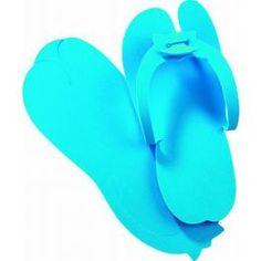 PEGGY SAGE PANTOUFLES JETABLES Bleu
