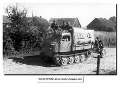 """Raupenschlepper Ost, literally """"Crawling Tractor - East"""", is more commonly abbreviated to RSO. This fully tracked, lightweight vehicle was conceived in response to the poor performance of wheeled and half-tracked vehicles in the mud and snow during the Wehrmacht's first winter on the Soviet Front. The RSO may have been inspired by very similar full-tracked small tractors in use in other armies, mostly originated from the pre-war light to medium series of Vickers artillery tractors"""
