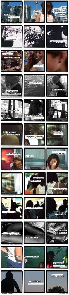 "A Softer World's 1000th comic. Some of my favourites:  ""I know I want love, but I have no idea // who will make me happy. // Emptiness doesn't know its own shape""  ""I do not believe in love at first sight. // But god damn.""  ""Waking up next to you // is like when other people get to sleep in // and keep dreaming."""