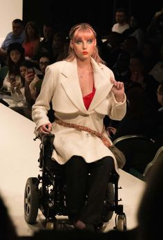 Putting disability on the catwalk - the student creating wheelchair-friendly outfits