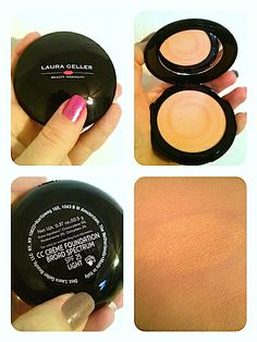 Review, Before/After Mascara Photos, Swatches: Laura Geller CC Créme Compact Color Correcting Swirl Foundation, Love Me Dew Moisturizing Lip...