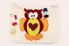 Bolsa de coruja - Portal de Artesanato - O melhor site de artesanato com passo a passo gratuito