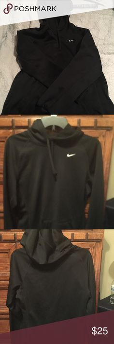 Nike pullover hoodie. Black Nike pullover hoodie jacket. Size small. Nike Jackets & Coats