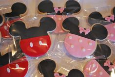 Galletas Minnie y Mickey