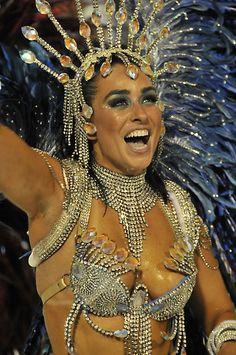 Carnival Dancer in Sambodromo, Rio de Janeiro, by Quasebart
