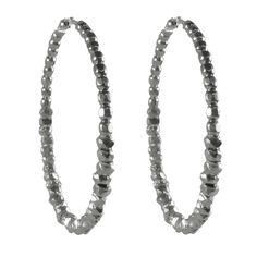 Beaded Hoops Sterling from Fab on Catalog Spree