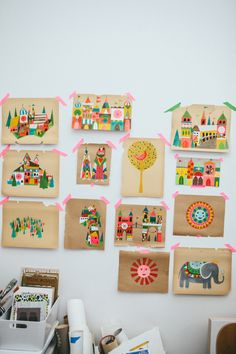 Lisa Congdon Illustrations   10 Neon/Fluro Images for Summery Inspiration, a post on www.oaxacaborn.com
