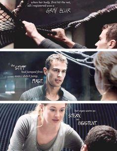 ~Divergent~ ~Insurgent~ ~Allegiant~ I cried so hard in this chapter. Divergent Memes, Divergent Hunger Games, Divergent Fandom, Divergent Trilogy, Divergent Insurgent Allegiant, Insurgent Quotes, Divergent 2014, Tris Und Four, Tris Et Tobias