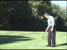 Reflex golf swing-6 iron shots from target - YouTube