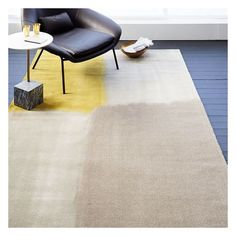 West Elm Watercolor Squares Rug, Frost Gray, 5'x8' ($224) ❤ liked on Polyvore featuring home, rugs, square area rugs, gray rug, gray area rug, west elm rugs and grey rug