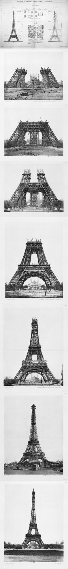 «La Tour Eiffel» – Paris, 1887