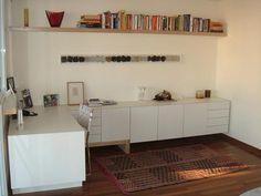 Resultado de imagem para escritorio com armario design