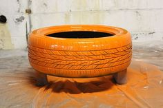 How to Paint a Rubber Tire   eHow
