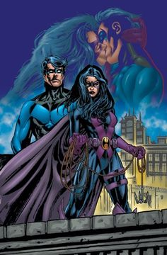Huntress (Bertinelli): Nightwing  Huntress