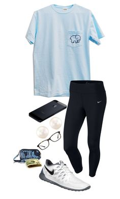"""""""doctor"""" by shelbycooper ❤ liked on Polyvore featuring NIKE, Anne Sisteron, GlassesUSA and Vera Bradley"""